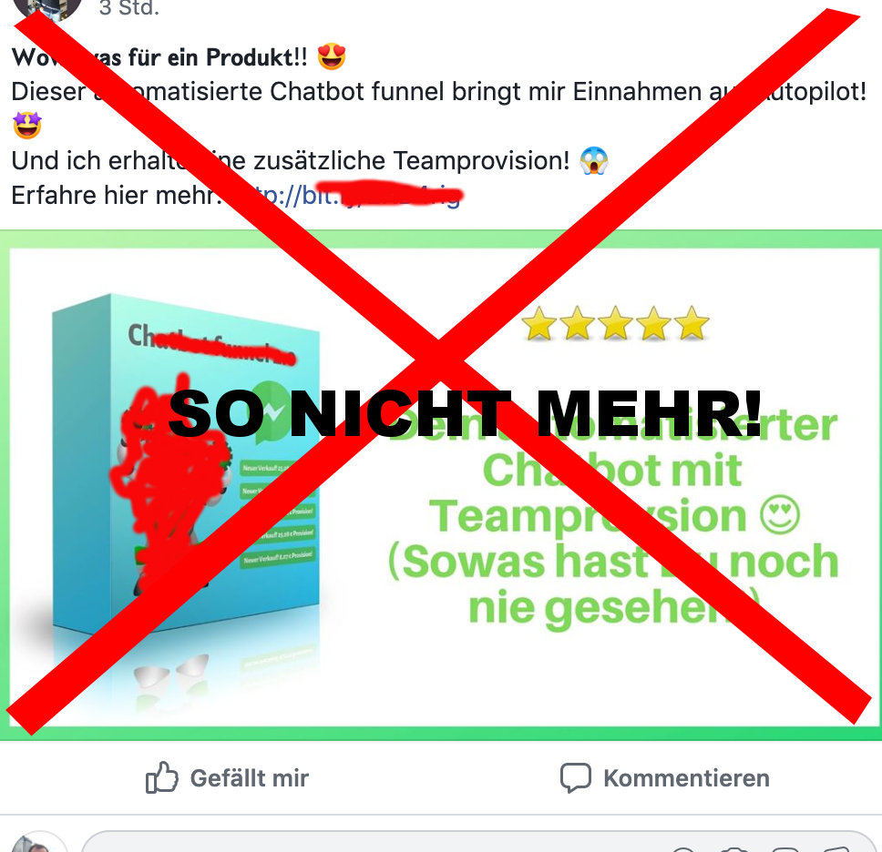 So funktioniert Facebook Marketing NICHT mehr!